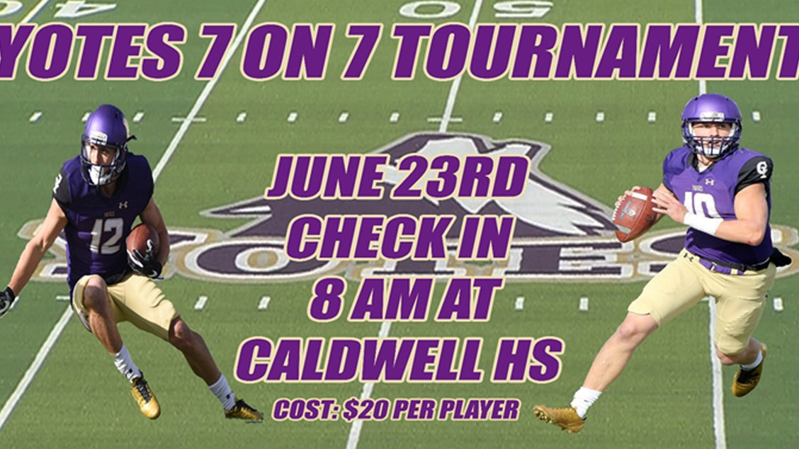 Coyote Football To Host 7 On 7 And Lineman Event College Of Idaho